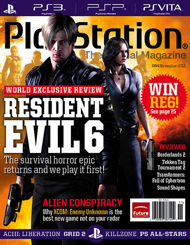 PlayStation: The Official Magazine — November 2012 Cover | by PlayStation.Blog
