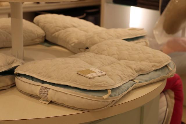 エイミームーン 立川ららぽーと 自分に合った枕 オリジナル枕