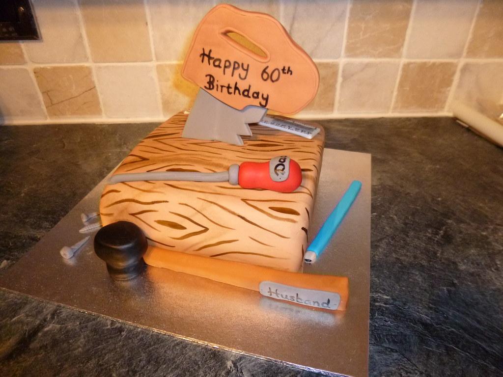 Hammer Birthday Cake