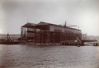 C. S. Swan & Hunter, Ltd. - East Yard, Shipbuilding Sheds (ca. 1900) | by Trondheim byarkiv