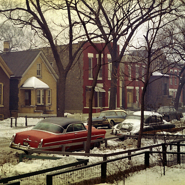 Bell Ave Chicago Ca 1960 Quot A Winters Day In A Deep And