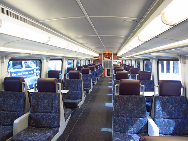 sound transit sounder interior 407 bombardier bi level coach flickr photo sharing. Black Bedroom Furniture Sets. Home Design Ideas