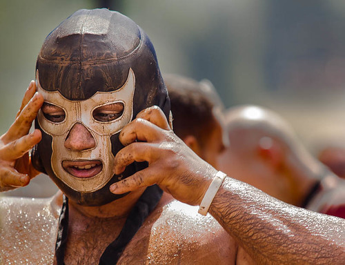 Warrior Dash Participant just after finishing | by A Man Called ACME