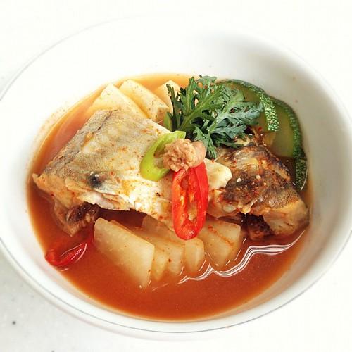 Korean Spicy Fish Cake Side Dish