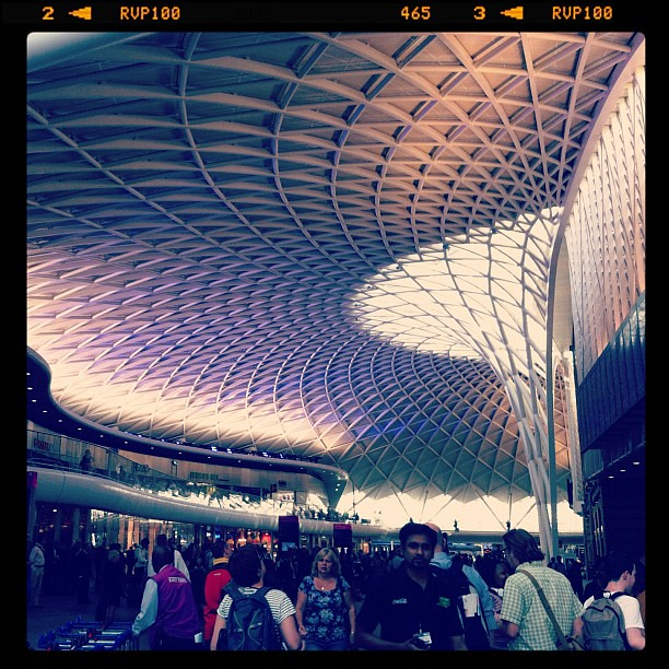 how to get from heathrow to kings cross st pancras