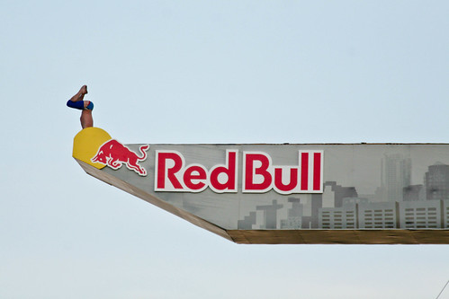 #RedBull Cliff Diving @ ICA Boston | by pweiskel08
