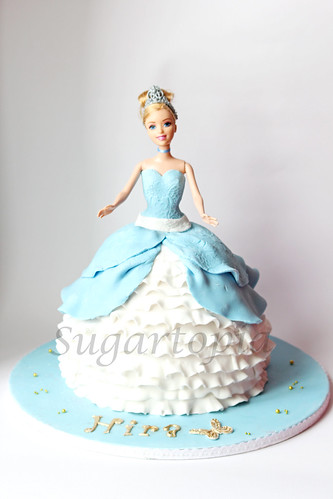 Cake Images Sonia : cinderella princess doll cake sonia Flickr
