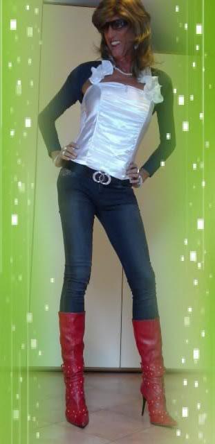 Skinny Crossdresser On Flickr  Newhairstylesformen2014Com-1751