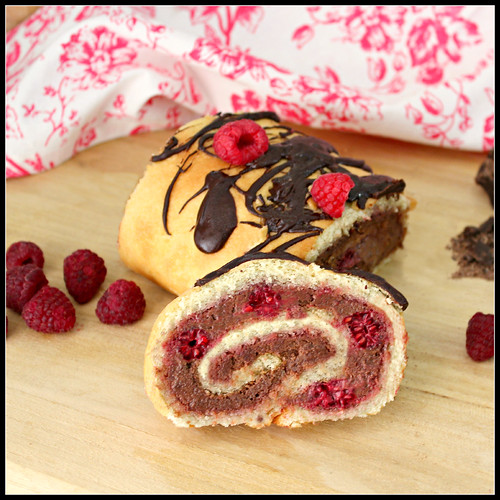 Chocolate-Raspberry Roulade 2 | by What About Second Breakfast?