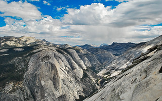 view from the top of half dome | by fetidadders