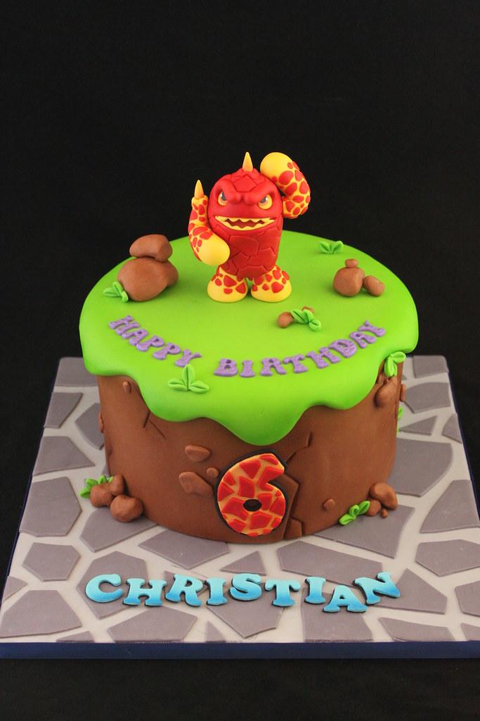 SkyLanders cake Andrea Sullivan Flickr