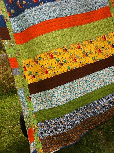 Ten Little Things Strip Quilt | by CoraQuilts~Carla