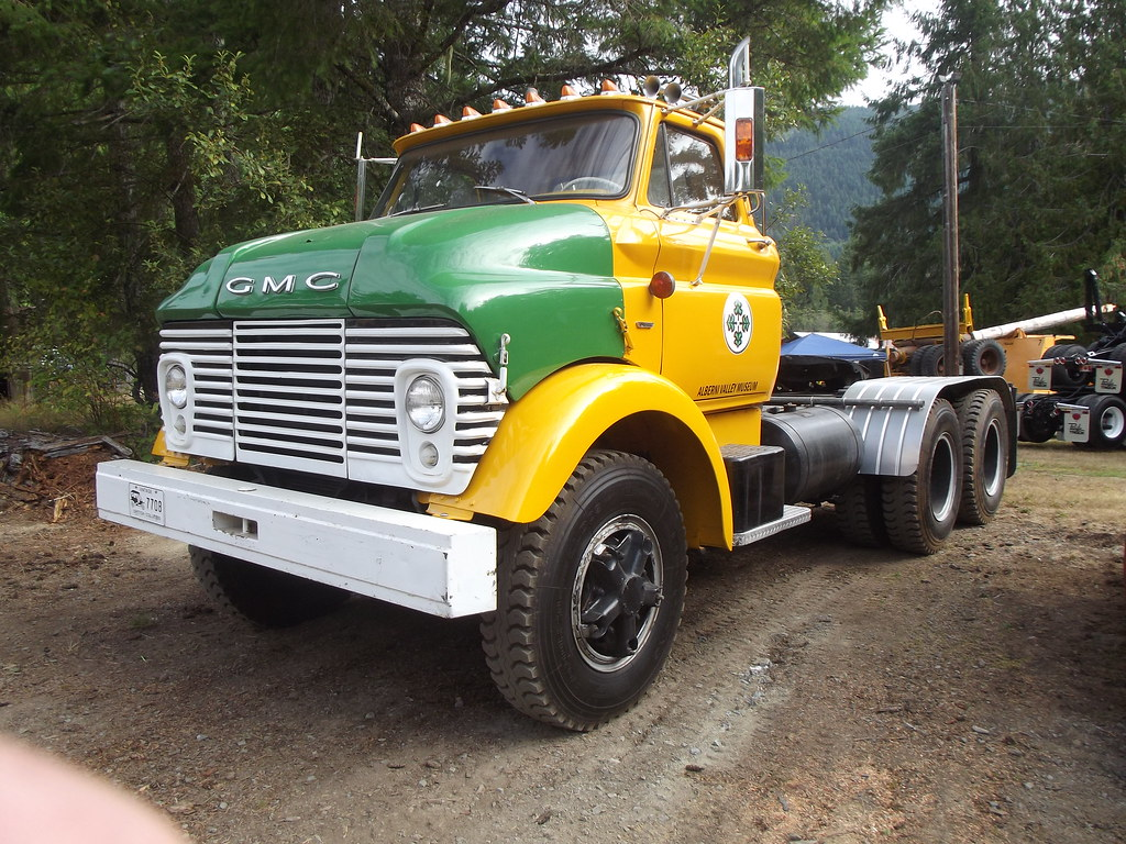1964 Gmc B 7000 A Former City Works Tractor And Now Part