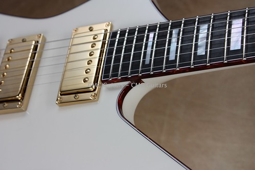 Jackson USA Custom Shop Flat Top Ivory Kelly KE2T Guitar | by CMC Guitars