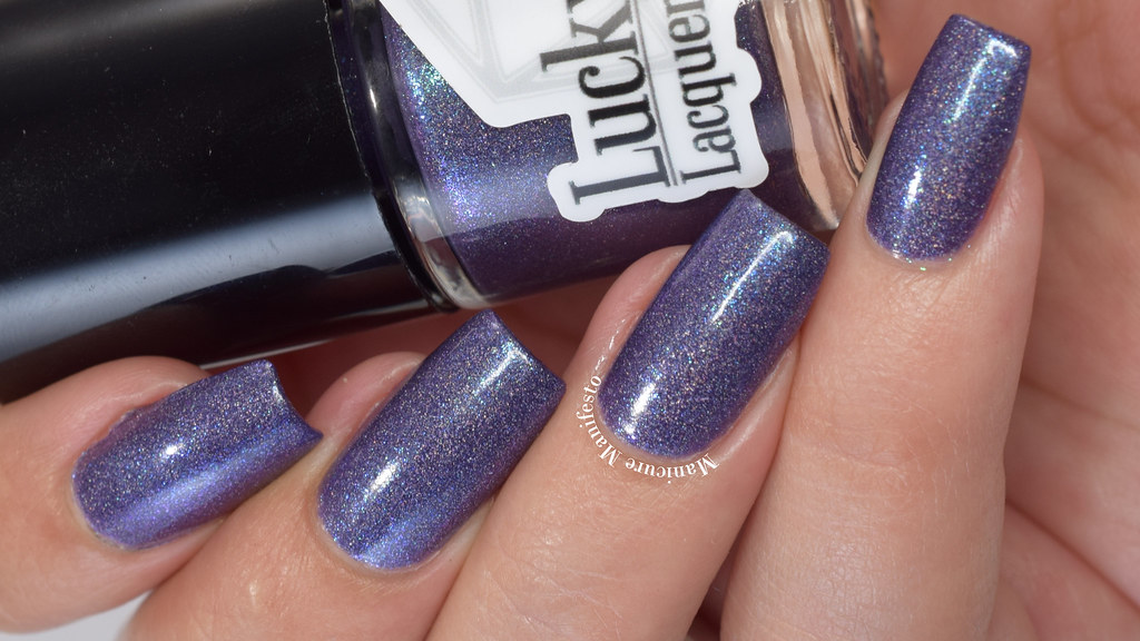 Lucky 13 Lacquer Midnight Maelstrom Swatch