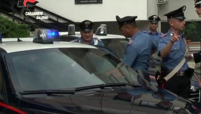 Salerno. Rapine e droga: 25 arresti, sgominate 5 bande