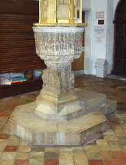 Marian Font (early 16th Century)