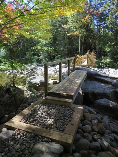 Opalescent River footbridge