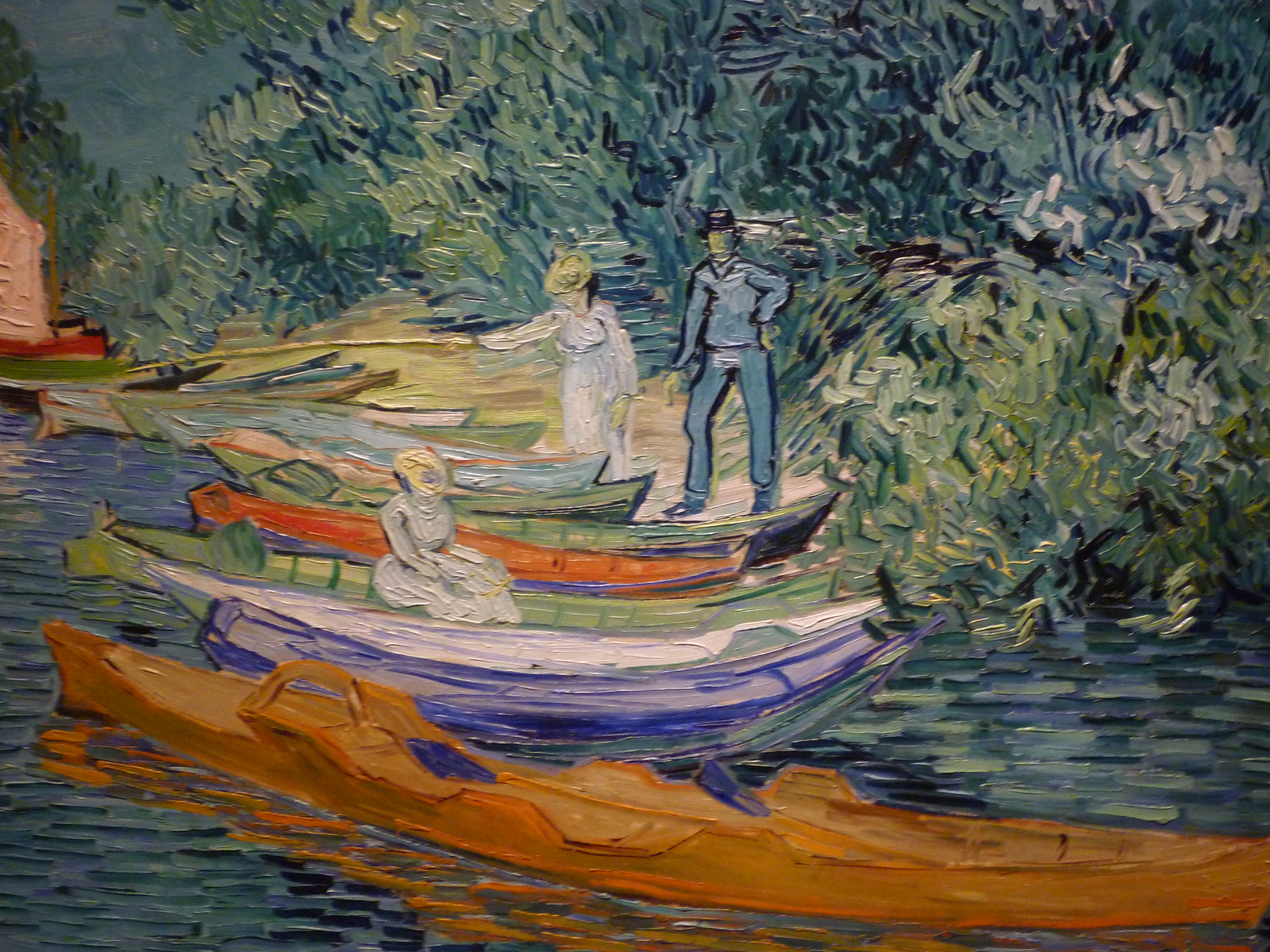 Vincent van Gogh - Bank of the Oise at Auvers (1890) | by Quick fix