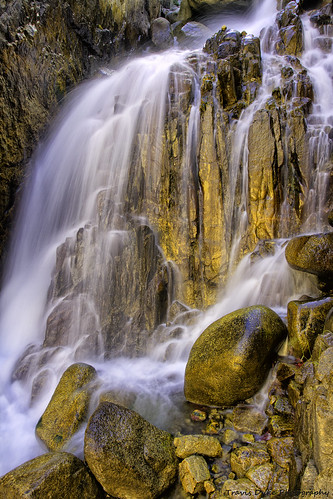 falls of gold | by Travis Duke
