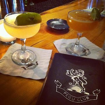Rhum Agricole Daiquiri and Pegu Club at Pegu club | by *FrogPrincesse*