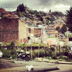 Santa Fe - One of Bogotas poorest neighborhoods but one with the richest hearts