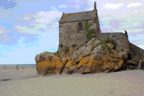 ....small church at Mont St. Michel | by marcellucray