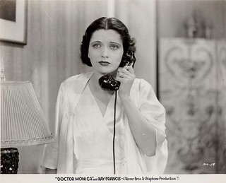 "Kay Francis, ""Doctor Monica"" (WB, 1934, dir. Wm. Keighley), original production still. 
