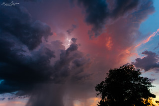 Arizona Monsoon sunset | by Alyssa Campbell