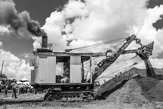 1921 Erie Steam Shovel | by The Stetsonian