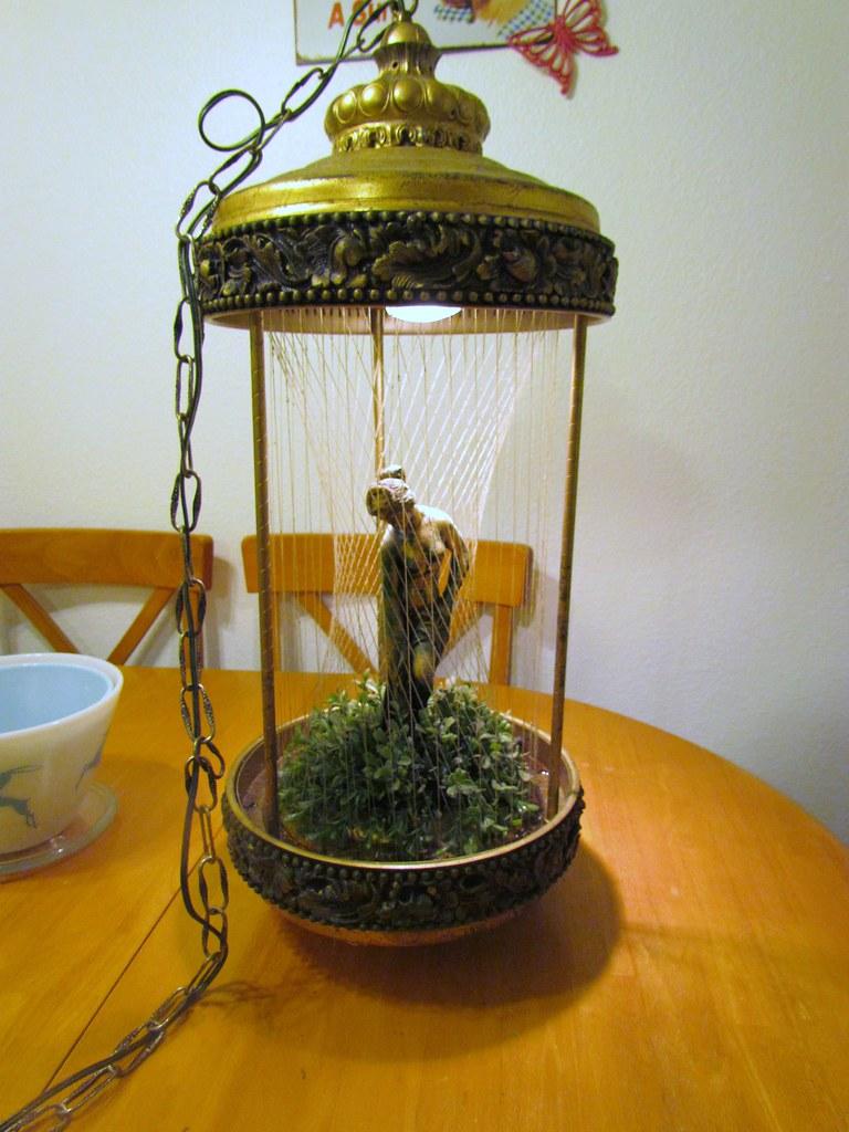 vintage rain lamp