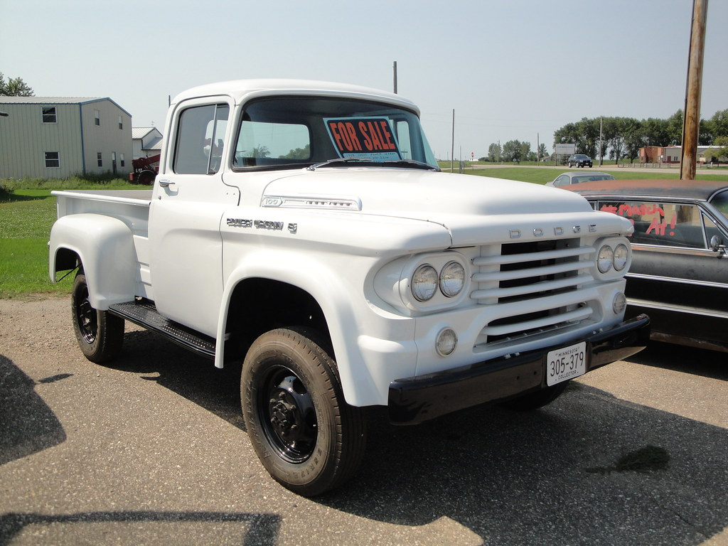 58 Dodge Power Wagon Greg Gjerdingen Flickr