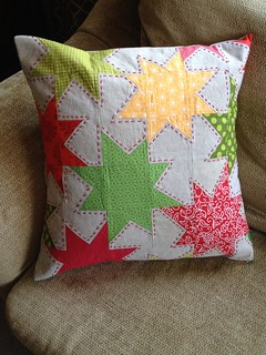 Sparkle Punch Pillow | by HoosierToni