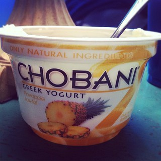 Currently addicted to this yummy pineapple yogurt. ♥ | by mirandaceleste