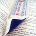 Once Upon a Time cross-stitch bookmark - back