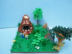 Man-Eating Tree Stump by LukeClarenceVan