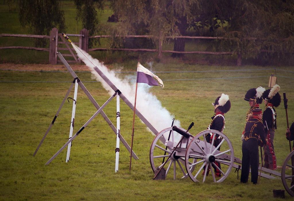 Firing A Congreve Rocket Living History The Napoleonic