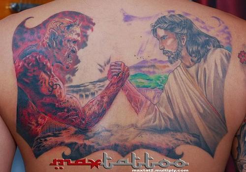 jesus vs satan 3rd session owen convocar flickr. Black Bedroom Furniture Sets. Home Design Ideas