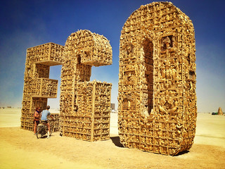 EGO Project at Burning Man 2012 | by arno gourdol