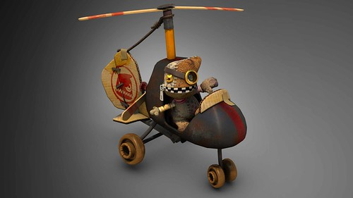 LittleBigPlanet Karting: Horde_GyroCopter | by PlayStation.Blog