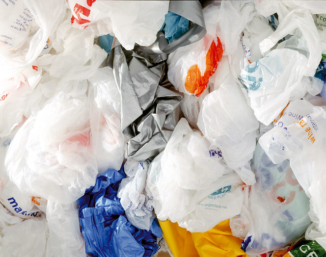 photo of plastic bags