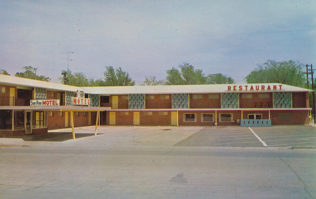 Sue Ann Motel & Restaurant - Oakley, Kansas