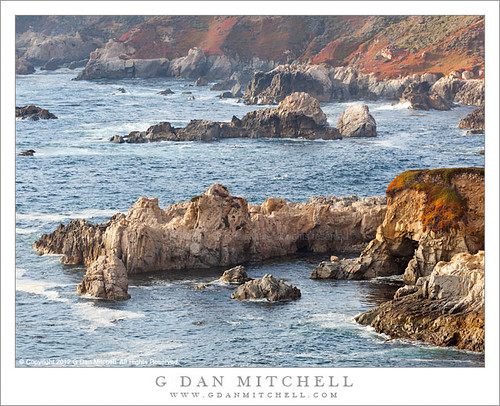 Rugged Rocks, Soberanes | by G Dan Mitchell