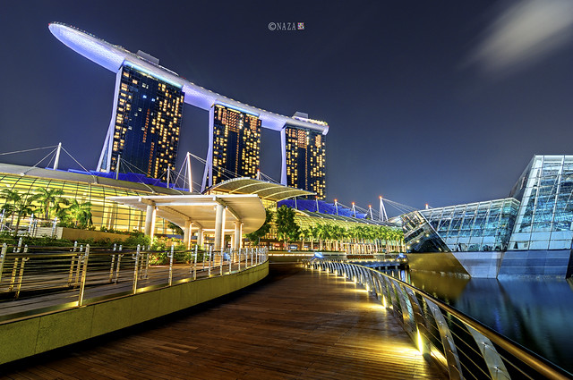 The Night That The Lights Never Went Out   Part 38   Marina Bay Sand (MBS)