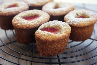 strawberry almond cakes (gluten + dairy-free) | by My Darling Lemon Thyme