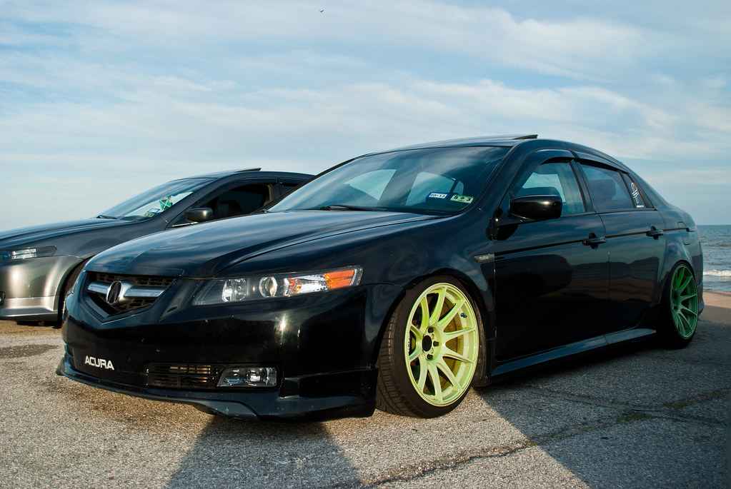 acura tl xxr 527 touring low flickr