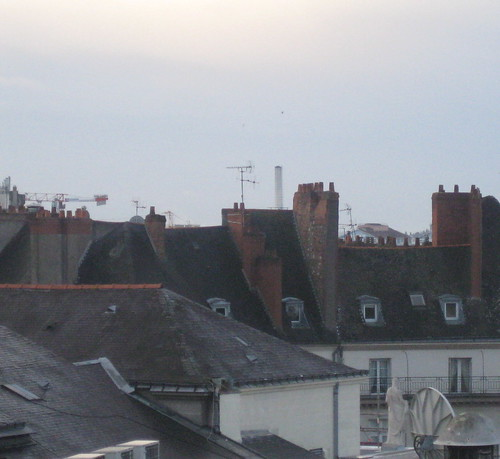 rooftops and chimney pots, Nantes | by kathmo