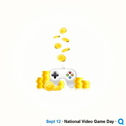 Happy #NationalVideoGameDay! | by QuiBidsdotcom
