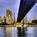 NYC 59th street bridge from Rooseveltt Island