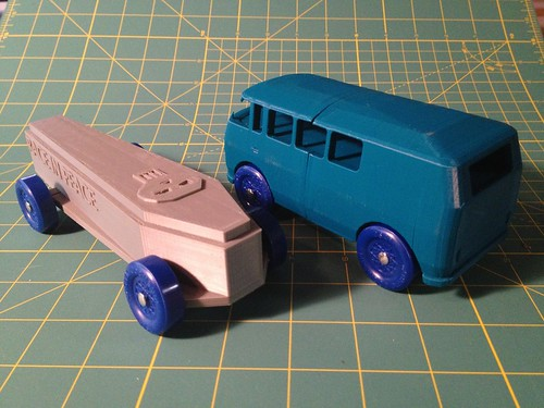 3D Printed Nerdy Derby Cars - Maker Faire NY | by jabella